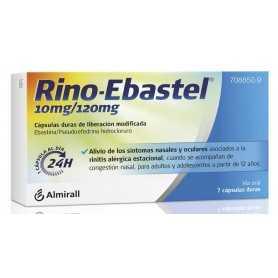 RINO-EBASTEL 10MG/120MG 7 CAPSULAS DURAS