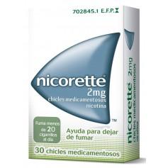 NICORETTE 2 MG CLASSIC 30 CHICLES