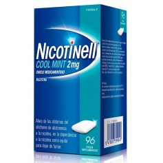 NICOTINELL 2 MG MINT 96 CHICLES
