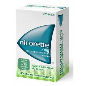NICORETTE 2 MG CLASSIC 105 CHICLES