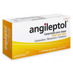 ANGILEPTOL 30 COMPRIMIDOS MIEL-LIMON