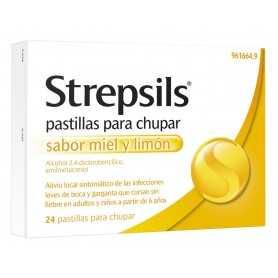 STREPSILS VITAMINA C 24 PASTILLAS PARA CHUPAR