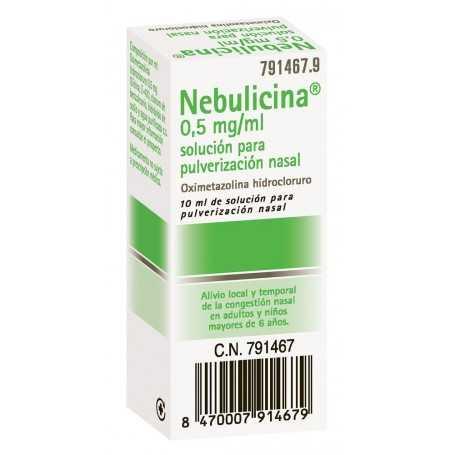 NEBULICINA ADULTOS NEBULIZADOR NASAL 10 ML
