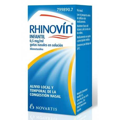 RHINOVIN INFANTIL GOTAS NASALES 10 ML