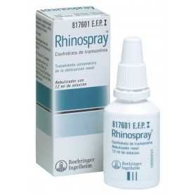 RHINOSPRAY 1,18 MG/ML NEBULIZADOR NASAL 12 ML