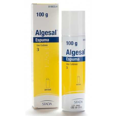ALGESAL AEROSOL TOPICO ESPUMA 100 GR