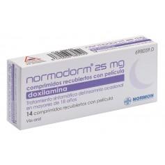 NORMODORM 25 MG 14 COMPRIMIDOS RECUBIERTOS