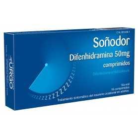 SOÑODOR 50 MG 16 COMPRIMIDOS