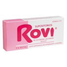 SUPOSITORIOS GLICERINA ROVI LACTANTES 10 U