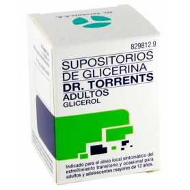 Supositorios Glicerina Dr Torrents Adultos 12 U