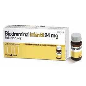 BIODRAMINA INFANTIL SOLUCION ORAL 5 U