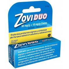 Zoviduo Cream 50Mg/GR + 10 MG/GR Crema 2 GR