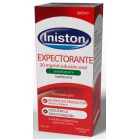 Iniston Expectorante 20 MG/ML 150 ML Sabor Menta