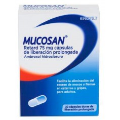 Mucosan Retard 75 MG 30 Cápsulas