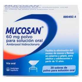 Mucosan 60 MG 20 Sobres Polvo Para Solución Oral
