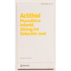 ACTITHIOL MUCOLITICO INFANTIL 20 MG/ML 200 ML