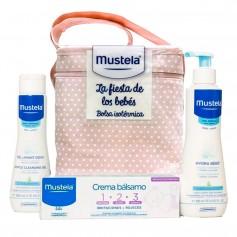 Pack Mustela Fiesta De Los Bebés Rosa