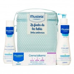 Pack Mustela Fiesta De Los Bebés Azul