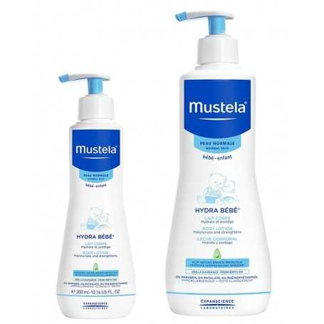 PACK MUSTELA HYDRA BEBE LECHE CORPORAL 750+300 ML