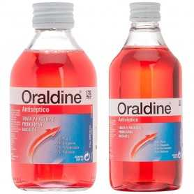 PACK ORALDINE ANTISEPTICO 400 ML+200 ML