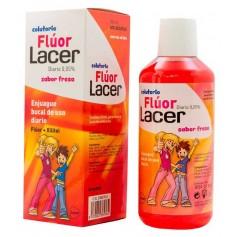 Lacer Colutorio Fluor Día 0,05 Fresa 500 ML