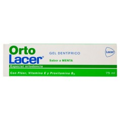 ORTOLACER GEL DENTIFRICO MENTA 75 ML