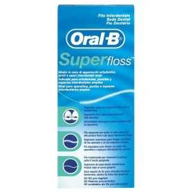 ORAL B SEDA DENTAL SUPER FLOSS 50 U