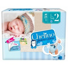 Chelino Pañal Infantil T2 3-6 Kg 28 U