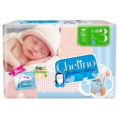 Chelino Pañal Infantil T3 4-10 Kg 36 U