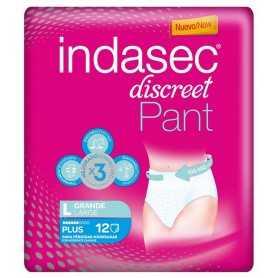 INDASEC DISCREET PANT PLUS GRANDE 12 U
