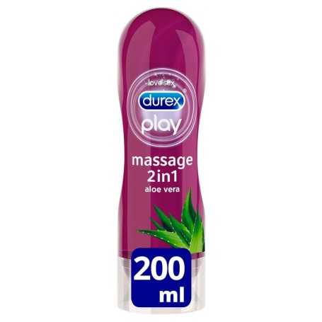 DUREX PLAY MASSAGE ALOE VERA 200 ML