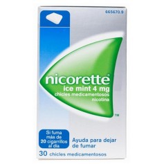 NICORETTE ICE MINT 4 MG 30 CHICLES