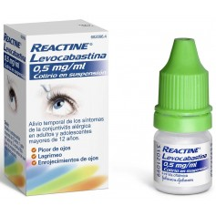 REACTINE LEVOCABASTINA 0,5 MG/ML COLIRIO 4 ML