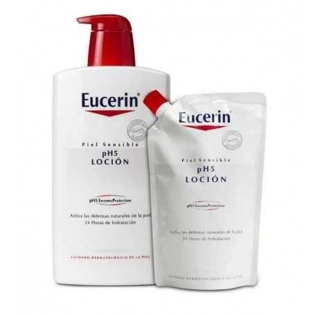 Eucerin Ecopack Loción 1000 ML+400 ML