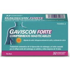 GAVISCON FORTE 32 COMPRIMIDOS