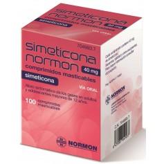 SIMETICONA NORMON 40 MG 100 COMPRIMIDOS MASTICABLES
