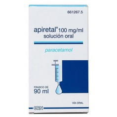 Apiretal 100 MG/ML Solución Oral 90 ML