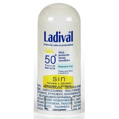 Ladival Stick Zonas Sensibles Trasparente SPF50+ 8 GR