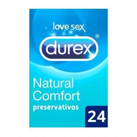 Durex Natural Plus (Natural Comfort) 24 U