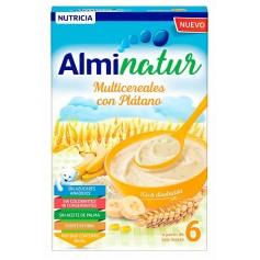 ALMINATUR MULTICEREALES CON PLATANO 250 GR