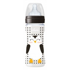 Chicco Biberón Pop Friends +4 Meses 330 ML