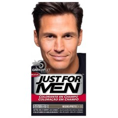 Just For Men Colorante En Champú Negro H-55
