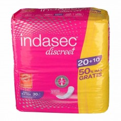 INDASEC DISCREET EXTRA 20+10 U