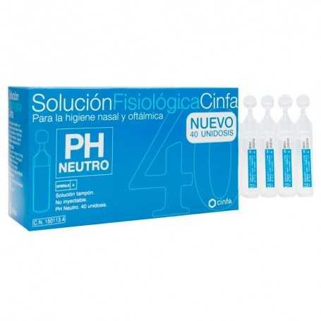 Solucion Fisiologica Cinfa 40 Unidosis