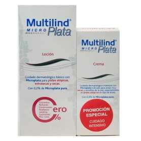 PACK MULTILIND MICROPLATA 0,2% LOCIÓN 200 ML + 0,3% CREMA 75 ML