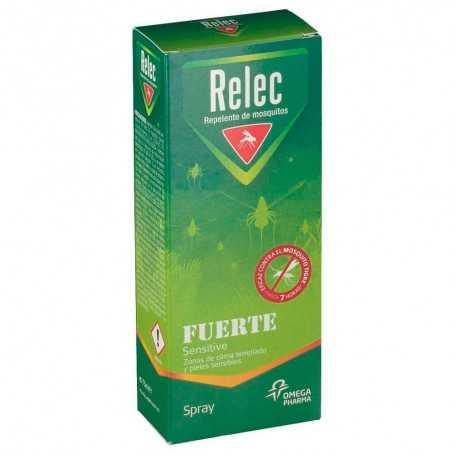 RELEC FUERTE SENSITIVE REPELENTE DE MOSQUITOS SPRAY 75 ML