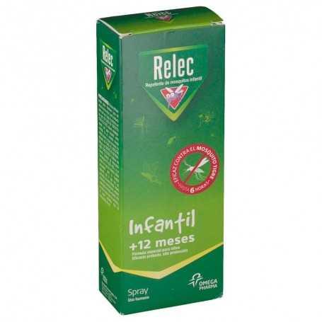 RELEC INFANTIL +12 MESES REPELENTE DE MOSQUITOS 100 ML