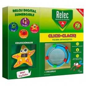 RELEC PULSERA CLICK-CLACK ESTRELLA REPELENTE DE MOSQUITOS