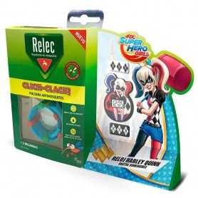 Relec Pulsera Antimosquitos Click-Clack + Regalo Reloj Harley Quinn