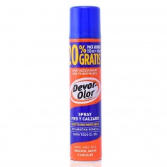 DEVOR OLOR SPRAY DESODORANTE PIES Y CALZADO 180 ML